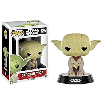 Funko POP Star Wars Dagobah Yoda Action Figure: Toys & Games