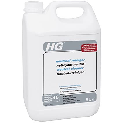 HG neutral cleaner for natural stone 5L - A neutral marble floor cleaner  for the regular, thorough but safe cleaning of marble floors and other