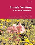 img - for Inside Writing: A Writer s Workbook, Form B book / textbook / text book