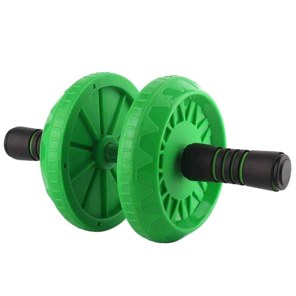 QYXANG Fitness Doppel AB Roller Rad, Einstellbare Teleskop Abdominal Rad Stärkung Bauchkern Fitness Workouts Training Für Männer Frauen Anfänger Profis