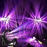 Eyourlife 36LED Blacklight UV LED Stage Light Par Lights DMX Black Light DJ Lighting for Glow Party Wall Decor Neon Paint Dance Floor Disco Bar Concert Karaoke