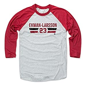 500 LEVEL's Oliver Ekman-Larsson Baseball Shirt - Arizona Hockey Fan Gear - Oliver Ekman-Larsson Font