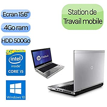 Notebook portátil HP EliteBook 8470p – Intel iCore i5 2,6 GHz – RAM