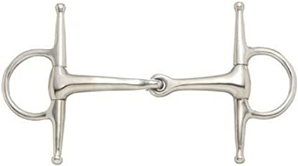 """Barrel D Ring Snaffle Bit Pony Horse Stainless Western 4 1//2/"""" mouth"""