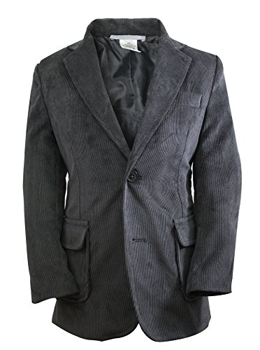 Luca Gabriel Toddler Boys' Charcoal Single Breasted Corduroy Blazer Jacket - ()