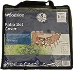 Woodside 8-10 Seater Rectangular Gard...