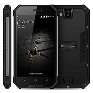 Blackview BV4000 Pro Triple Proofing Phone 2GB+16GB 4.7 inch Android 7.0 MTK6580A Quad Core up to 1.3GHz GSM & WCDMA (Black)