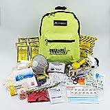 PrepareSurvive Backpack for Disaster Preparedness with Dynamo Radio/Flashlight & iOSAT KI Tablets