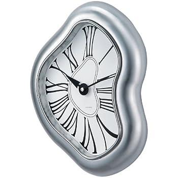 Telechron Melted Metal Clock