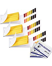 Votenjoy pH Test Strips, Full Range 1-14 ph Litmus Paper 240PCS for Pool Spa Soap Making pH Kit Water Soil Liquid Laboratory& Household Analysis Test