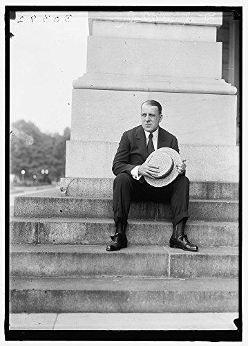 1918 Photo WALSH, DAVID L. SENATOR FROM MASSACHUSETTS Location: Washington D.C.