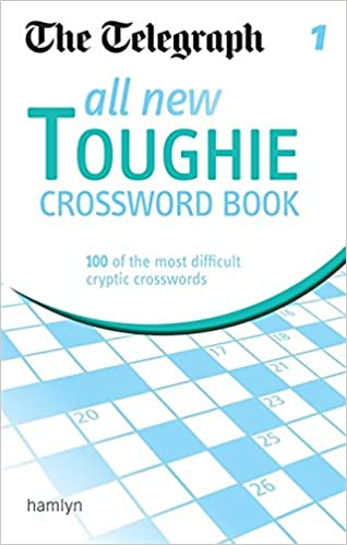 0777b3940 The Telegraph: All New Toughie Crossword Book 1 (The Telegraph Puzzle  Books) Paperback – 7 May 2012