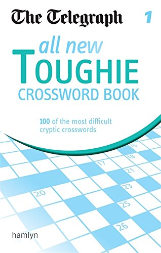 The Telegraph: All New Toughie Crossword Book 1 (The Telegraph Puzzle Books) pdf