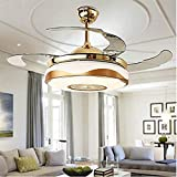 36 inch Ceiling Fan Light with Bluetooth Speaker