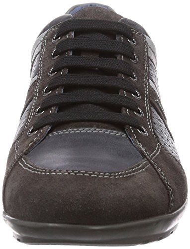 U homme Geox Baskets A Blackc6524 Gris Symbol mode Mud TwUdqUOX