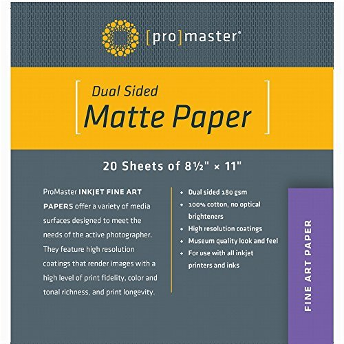 lossy Inkjet Paper 13x19 inch - 20 sheet box by ProMaster ()