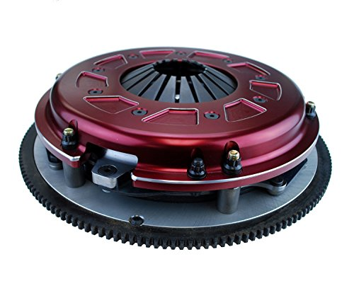 Ram 61-2137 Race Pro Street Dual Disc Clutch System Size 10.5 153 Tooth Count 26 Spline By 1 1/8 in. Incl. Flywheel/Disc/Pressure Plate Chevy to 1990 454 CID Race Pro Street Dual Disc Clutch System (Ram Street Dual Clutch)