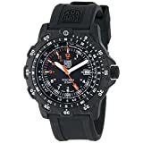 Luminox Men's 8821.KM Recon Pointman Black, Rubber Band with Multi Color Accents Watch