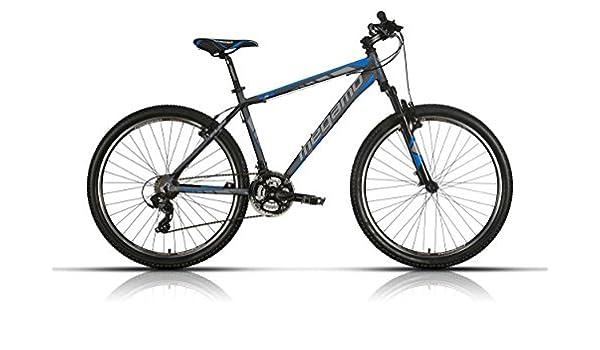 Megamo Fun Bicicleta de Montaña, Hombre, Gris, 13.5