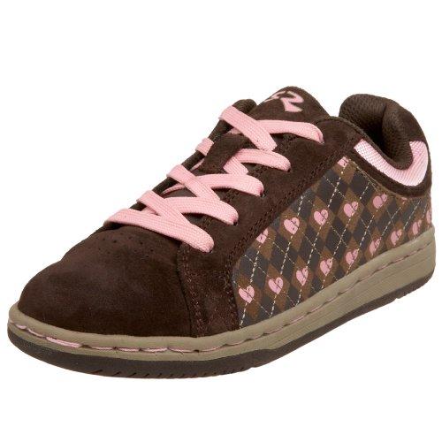 Stride Rite Toddler/Little Kid Hattie Sneaker,Espresso/Sugar Pink,5 M US Toddler