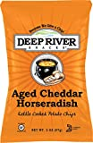 Deep River Snacks Kettle Chips, Aged Cheddar Horseradish, 2-Ounce (Pack of 24)