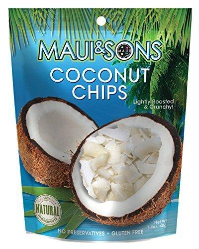 Maui&Sons Coconut Chips - 1.4 Oz