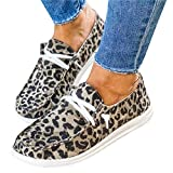 Women's Loafers Flat Low Heel Slip On Canvas