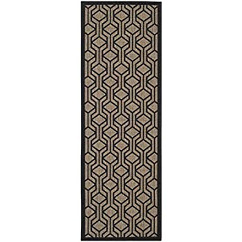 Amazon Com Safavieh Courtyard Collection Cy6114 81 Brown