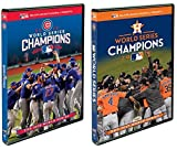 Major League Baseball: 2016 & 2017 World Series Champions - The Chicago Cubs & Houston Astros vs. Los Angeles Dodgers - DVD