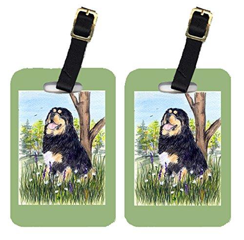 UPC 705332213684, Carolines Treasures SS8106BT Tibetan Mastiff Luggage Tags, Pack - 2