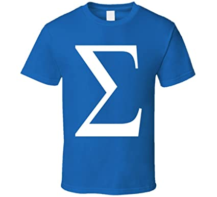 Perfect Fit T Shirts Greek Letter Sigma Funny Geek Math Symbol T