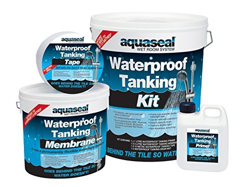 Everbuild EVBAQSKIT75 7.5 m Aqua Seal Wet Room System Kit by Everbuild Toolbank