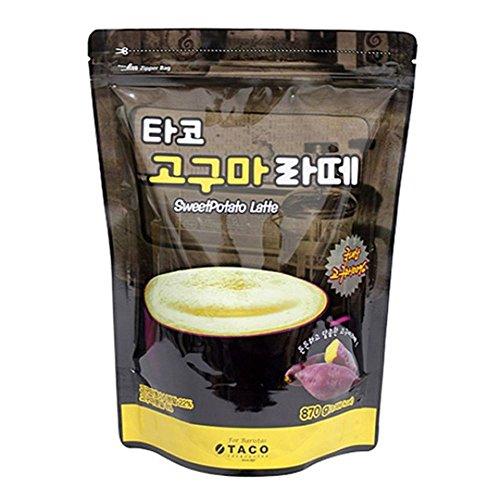 Taco Sweet Potato Latte Powder 870G by Taco