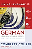 Complete German: The Basics (Book and CD Set): Includes Coursebook, 4 Audio CDs, and Learner s Dictionary (Complete Basic Courses)