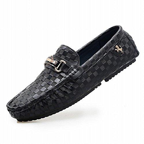 Latasa Comfort-slip Voor Heren Casual Instappers Loafers Zwart