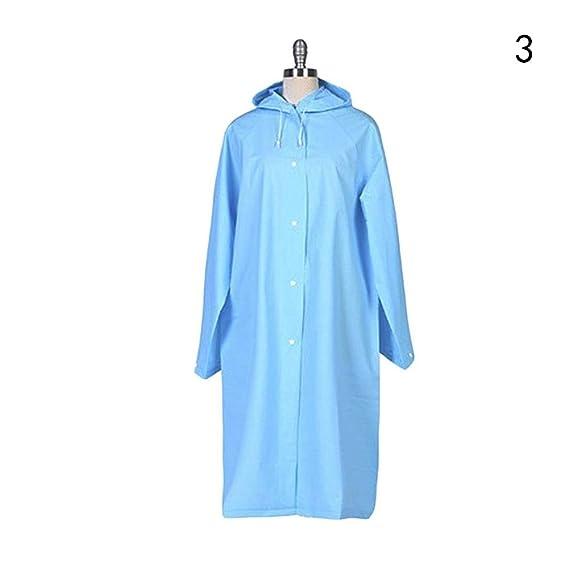 3April - Abrigo para la nieve - Manga Larga - para mujer Azul azul Talla única: Amazon.es: Ropa y accesorios