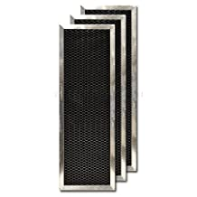 Activated Carbon Filter for Goodman/Five Seasons Air Cleaner 1156-3, 3-Pack by Goodman