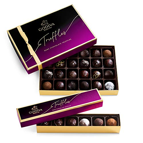 Godiva Chocolatier Assorted Dark Chocolate Truffles
