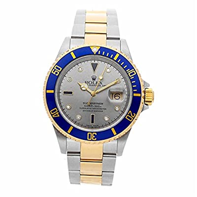 Rolex Submariner Automatic-self-Wind Male Watch 16613 (Certified Pre-Owned) from Rolex