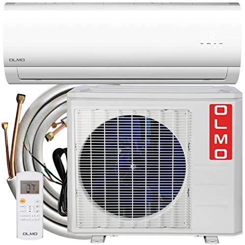 OLMO Alpic Ductless Mini Split Air Conditioner 12,000 BTU 115v 60hz 16 SEER with 16 installation kit