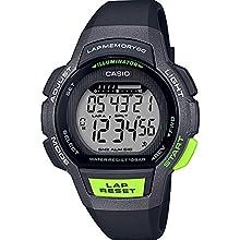 Casio Reloj Digital para Mujer de Cuarzo con Correa en Resina LWS-1000H-1AVEF