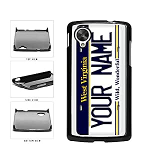 Personalized Custom West Virginia License Plate Plastic Phone Case Back Cover Nexus 5