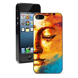 Apple iPhone 5c Black 5CB396 Hard Back Case Cover Color Abstract Buddha Background