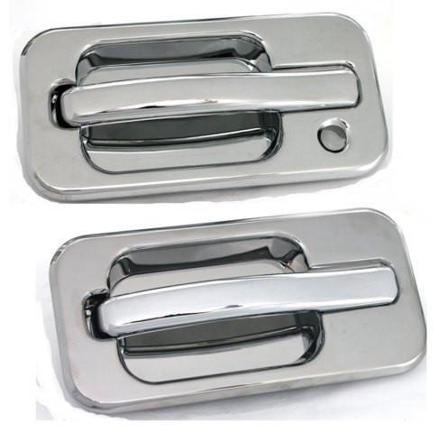Exterior Accessories Billet Door Handles (All Sales 601 Polished Billet Aluminum Door Handle and Bucket Kit)