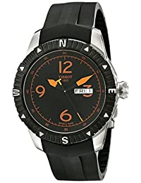 Tissot Men's T0624301705701 T Navigator Analog Display Swiss Automatic Black Watch
