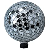 Very Cool Stuff GLMGD102 VCS Garden Disco Mosaic Glass Globe, 10''