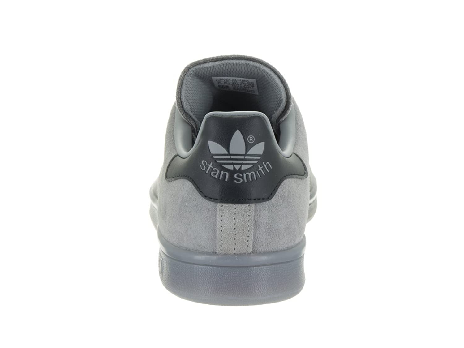 Adidas hombre 's Stan Smith Charcoal GRIS tobillo alto