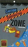 Darice Construction Zone Sticker Book, 208 Stickers