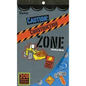 Arts /& Crafts DUMP TRUCK Bulldozer CRANE mixed 24 /& MAGIC Scratch VEHICLES 208 Awesome CONSTRUCTION Zone STICKER Book