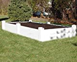 Cheap Dura-Trel Vinyl Raised Planter Box 4ft x 8ft x 11i